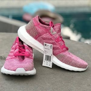 Adidas Pink PureBOOST GO J